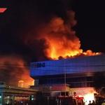 Warga Mendengar Bunyi Ledakan Setelah Kantor BNI Terbakar