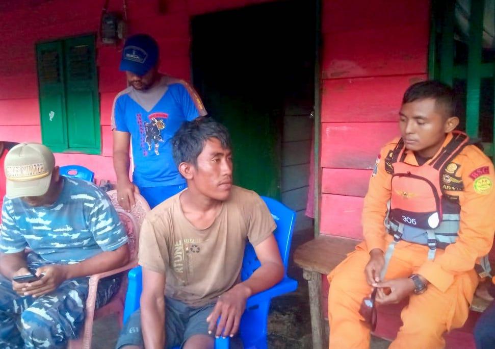 Nelayan Hilang Ditemukan Selamat di Perairan Papua
