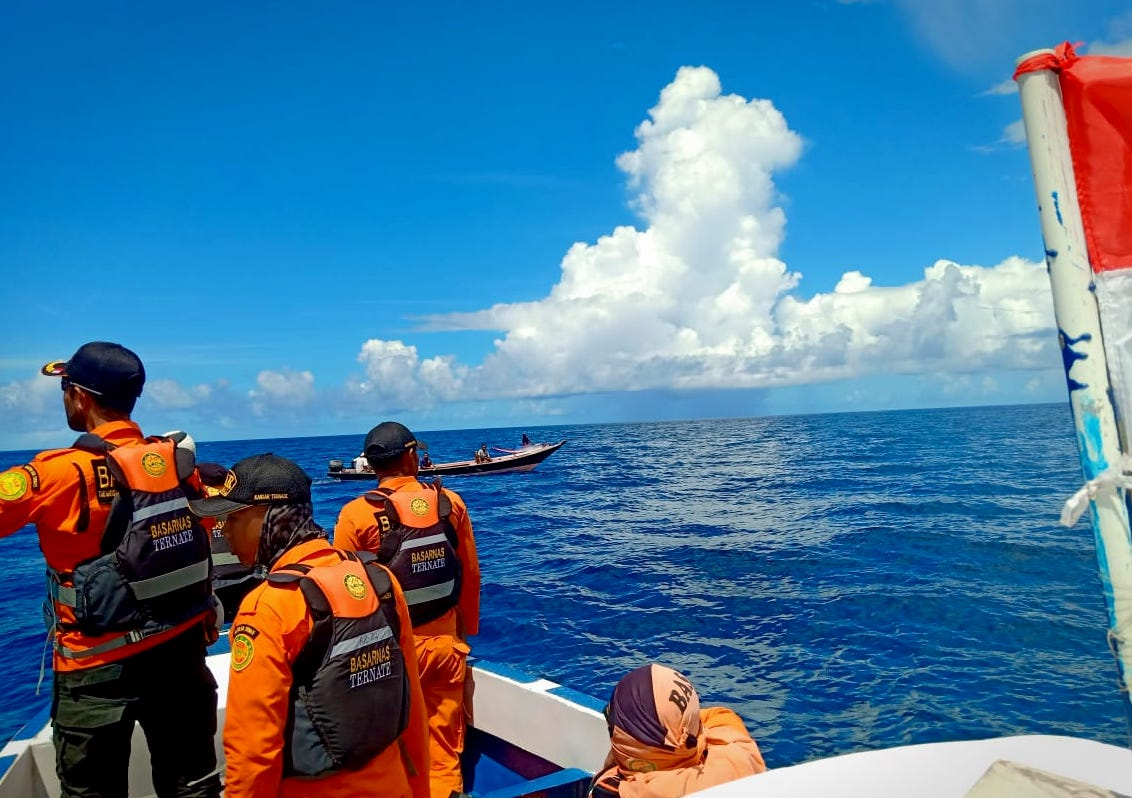 Nelayan Hilang di Perairan Pulau Gebe Belum Ditemukan