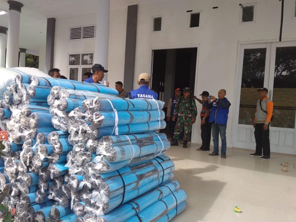 Tim Tanggap Bencana Diterjunkan ke Gane Halmahera
