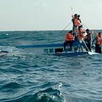 Kru dan Penumpang Kapal Tenggelam di Perairan Banggai Ditemukan Selamat