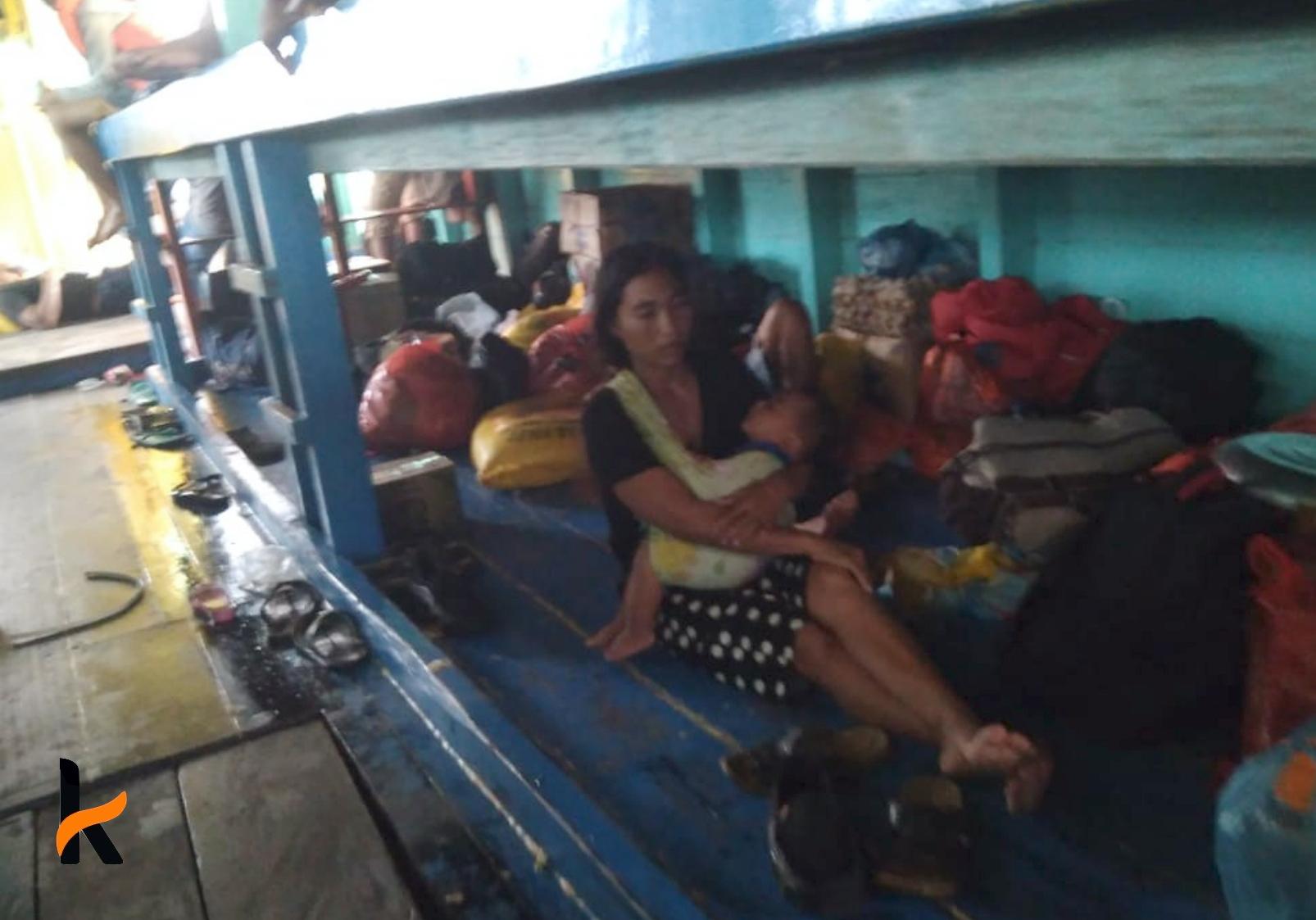 47 Penumpang Nyaris Tenggelam Bersama KM Putra Kembar di Perairan Halmahera