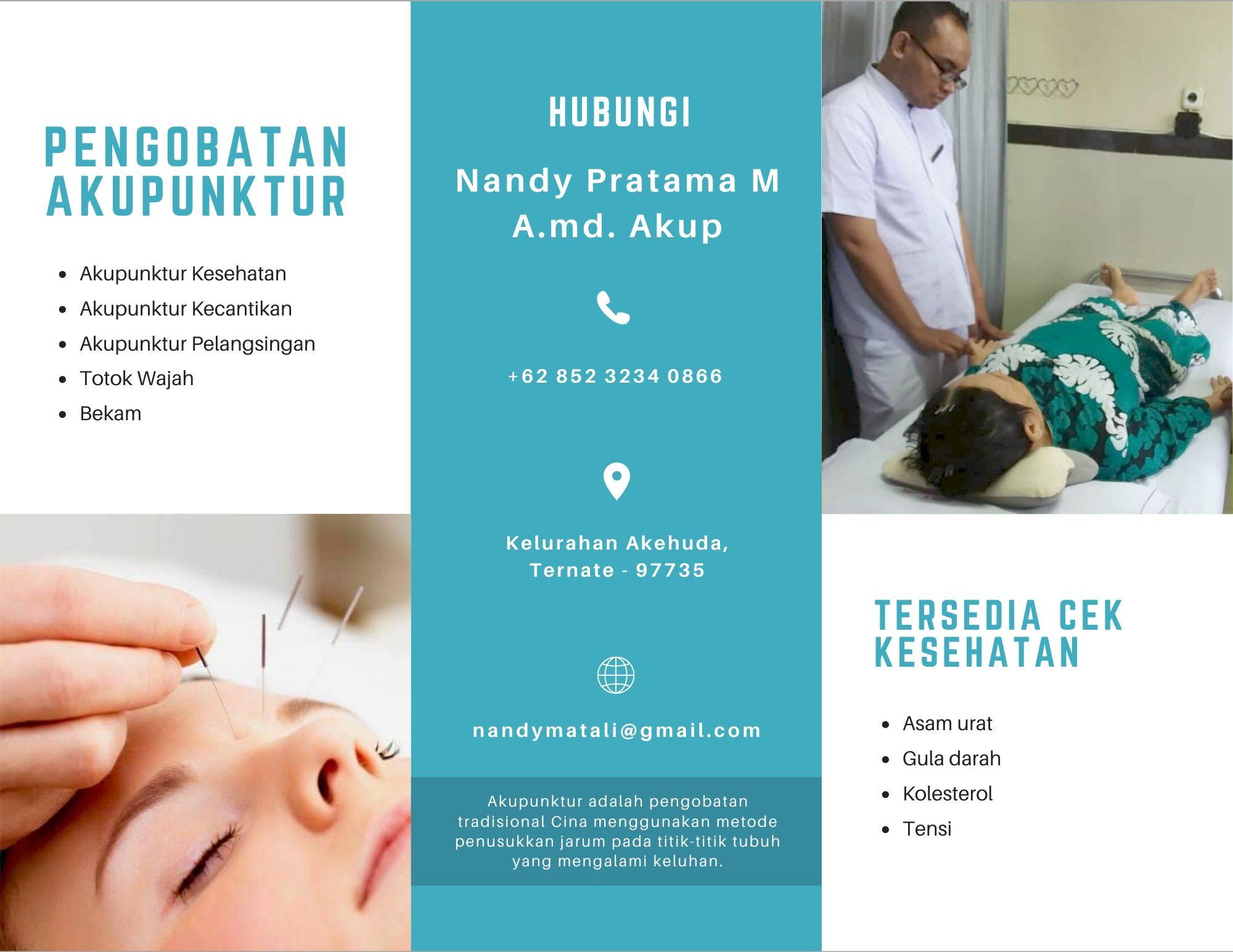 Telah Hadir Pengobatan Akupunktur di Maluku Utara