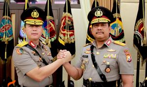 Kapolda Maluku Utara Resmi Berganti