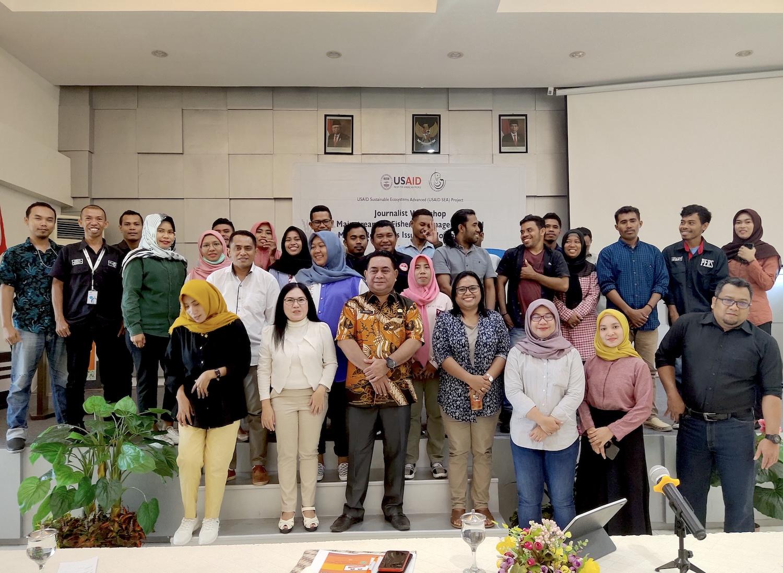 Ajak Jurnalis Maluku Utara Dukung Program KKP dan Perikanan Berkelanjutan