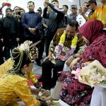 Penyambutan Kapolda dan Ketua Bhayangkari di Bumi Moloku Kie Raha