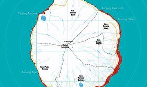 Eutrofikasi Penyebab Kematian Massal Ikan di Maluku Utara