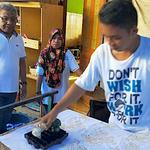 Yamin Siap Jadikan Tubo Sebagai Kampung Wisata Batik di Ternate