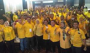 Begini Hasil Musda Golkar Maluku Utara Versi Hotel Bolevard dan Sahid di Ternate