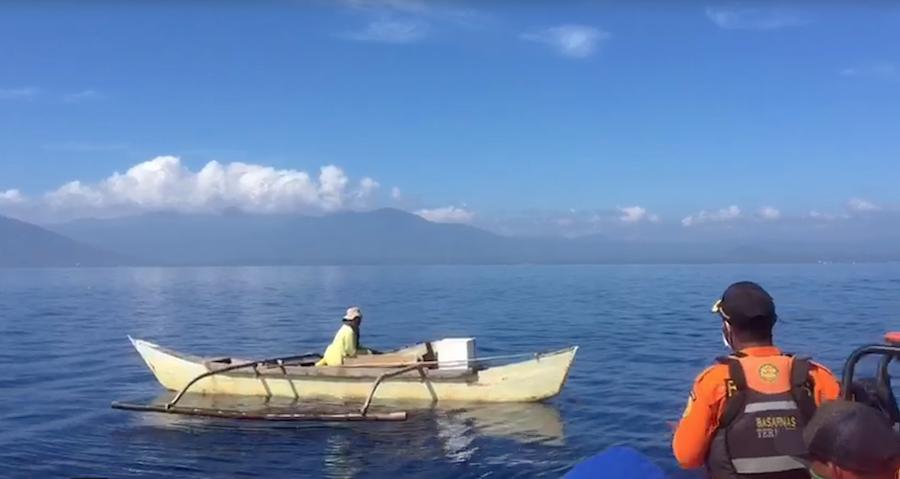 Nelayan Wosia Halmahera Ditemukan Selamat Setelah 3 Hari Hanyut di Laut