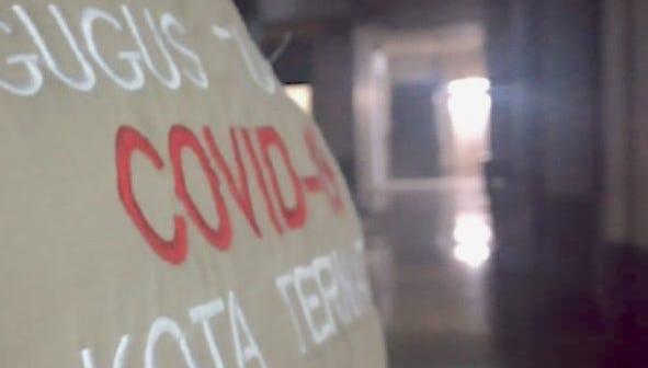 Sisa 117 Orang Positif Covid Dirawat di Maluku Utara