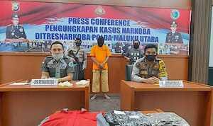 Napi Asimilasi Kembali Ditangkap di Tidore Terlibat Narkoba Jaringan Medan