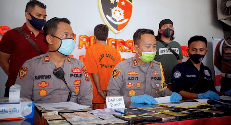Spesialis Pencuri Handphone di Ternate Ditangkap Polisi