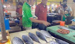 Harga Ikan Cakalang di Pasar Gamalama Ternate Relatif Stabil