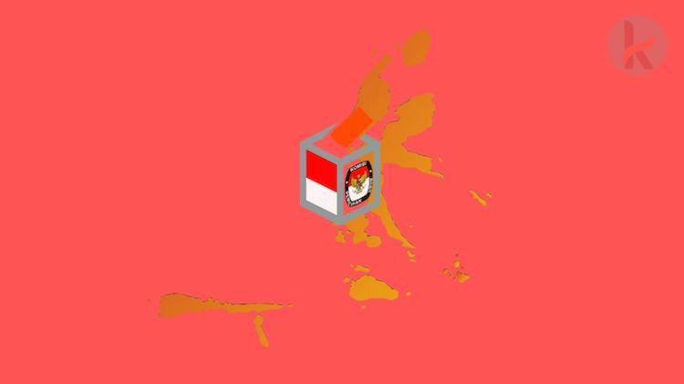 Daftar Pemilih Tetap 8 Daerah Penyelenggara Pilkada di Maluku Utara
