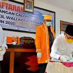 Sudah Tiga Paket Paslon Pilkada Ternate yang Mendaftar di KPU