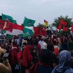 Ribuan Mahasiswa di Ternate Kembali Demo Tolak Omnibus Law