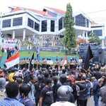 Total Mahasiswa yang Diamankan saat Demo Tolak Omnibus Law di Ternate