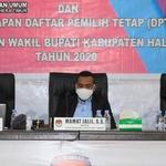 KPU Tetapkan DPT Pilkada Halmahera Timur 57.152 Orang