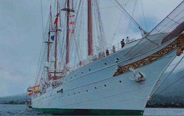 Tentang Kapal Juan Sebastian de Elcano yang Kembali Berlabuh di Tidore