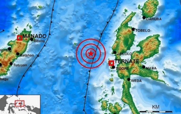Gempa M 5,3 Guncang Ternate Maluku Utara Tidak Berpotensi Tsunami