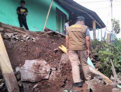 Tembok Penahan Rumah Warga dan TPQ di Ternate Patah Akibat Longsor