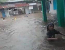 Sampah dan Batang Pisang Jadi Penyebab Banjir di Sangaji Ternate Utara