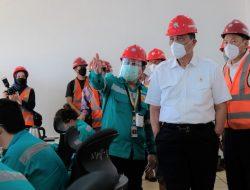 Pabrik Bahan Baku Baterai Pertama Indonesia Resmi Beroperasi di Maluku Utara