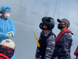Kapal Tentara Jepang Selamatkan Nelayan Mengapung 4 Hari di Laut Maluku Utara