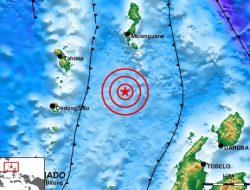 Gempabumi M 6,2 Guncang Kepulauan Talaud Tidak Berpotensi Tsunami